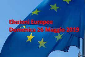 CONSULTAZIONI ELETTORALI DI DOMENICA 26 MAGGIO 2019 - LISTE DEI CANDIDATI